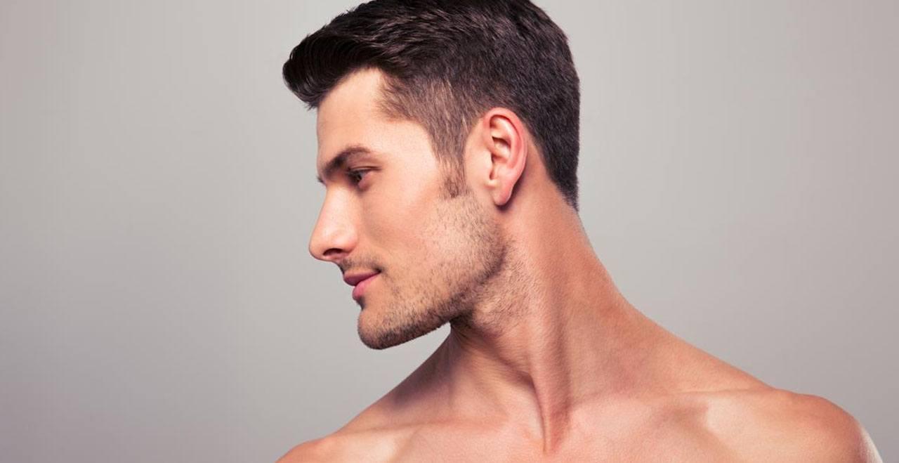 Medicina estética para hombres